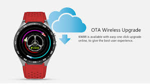 kingwear kw88 3g smartwatch phone 89 99 online shopping