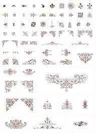 250 free vintage graphics flourish vector ornaments blancer