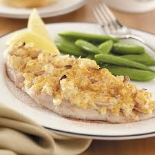 Fish Pot Pie by Crab Topped Fish Fillets Recipe Taste Of Home