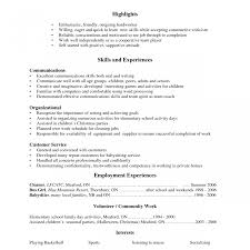 job resume sle for high students resume unbelievable high job exles sle student first