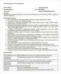 simple business resume templates 19 free word pdf documents