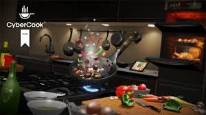 cuisine virtuelle de la cuisine virtuelle avec cybercook sur gear vr