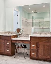 creative ideas bathroom vanity with makeup counter best 25 double