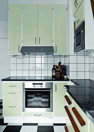 vintage kitchen backsplash decor astounding white retro kitchen tile backsplash and black