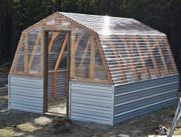 How To Build A Pole Barn Cheap Ana White Barn Greenhouse Diy Projects