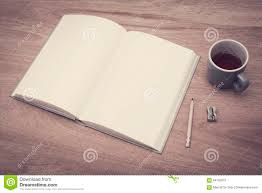 sketch book mockup stock photo image of empty tabletop 64165012