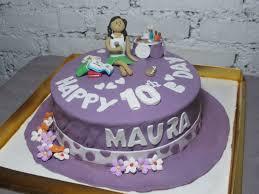 spatula friends birthday cake 10 yo maura