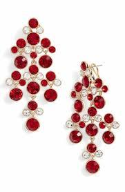 Red Chandelier Earrings Statement Women U0027s Earrings Nordstrom