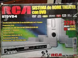 rca dvd home theater home theater rca rtdvd4 5 1 espectacular 2 000 00 en