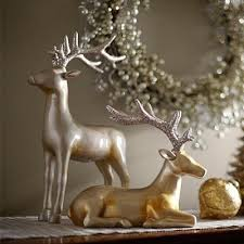 Electric Reindeer Christmas Decorations martha stewart living