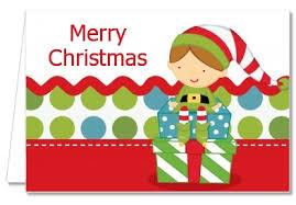 christmas thank you cards christmas thank you cards santa s thank you notes