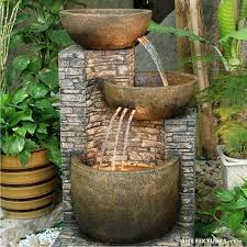 Garden Water Fountains Ideas Outdoor Ideas Best 25 On Pinterest Intended For Patio