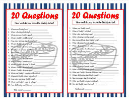 baby shower questions 20 questions nautical printable party nautical baby