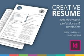 Indesign Resume Template 2017 Free Flat Resume Template Resume Template Download Free Resume