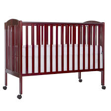 Mini Crib Size by Amazon Com Dream On Me Full Size 2 In 1 Folding Stationary Side