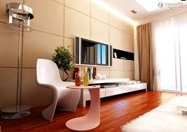 Living Room Tiles TV Background Wall Living Room Interior - Tiles design for living room wall