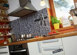 spritzschutz küche spritzschutz für herd optisches highlight hohem nutzen in