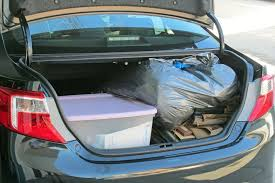 trunk space toyota corolla 2012 toyota camry term road test cargo space