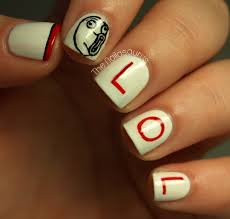 Nail Art Meme - daily nail art lol meme flauntme