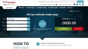 Estimate Tax Refund 2014 by Uk Tax Refund Calculator How To Calculate Your Tax Claim