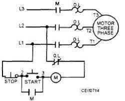 start stop station wiring diagram single phase wye delta motor
