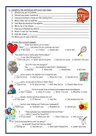 conditional sentences interactive and downloadable worksheet