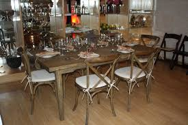 Farm Table Restaurant Table Rental Los Angeles Table And Chair Rentals Los Angles
