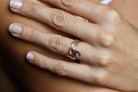 gold name ring gold signature ring name ring signature jewelry