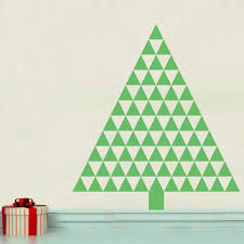 triangle tree wall decal shop decals at decals
