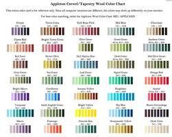 color cards for embroidery threads u2013 needlenthread com