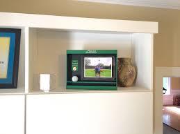 golf ball display frame hole in one golf ball case alu design