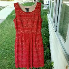 57 off enfocus studio dresses u0026 skirts enfocus studio lace red