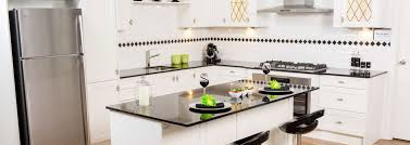 white kitchen cupboards black bench kitchen design trends to add value to your home sydney