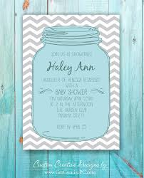 jar baby shower jar baby shower invitations isura ink