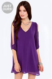 cold shoulder dress pretty purple dress shift dress cold shoulder dress 44 00
