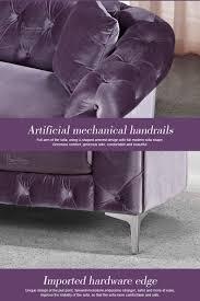 chesterfield style fabric sofa purple color fabric sofa sofa style new arrival 2016 buy