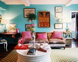 Bohemian Interior Design by Interior Design Ideas With Blue Wall Paint