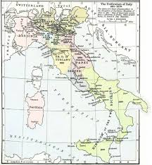 Map Of Naples Italy by Describe The Process Of Italian Unification In The 19th Century