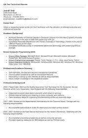 testing resume format b sc computer science resume format 11 qa