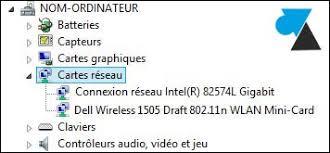 Problème Carte Réseau Wifi Dans Trouverle Modèle Exact De Carte Réseau Ethernet Wifi