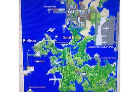 Aurora Map Aurora City Current Updates Minecraft Editions Show Your
