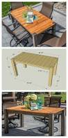 Free Woodworking Plans For Garden Furniture by Diy Cedar Patio Table Free Plans At Buildsomething Com Kreg