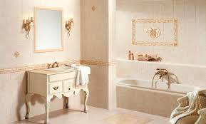 Tile Bathroom Wall by Bathroom Fabulous Image Of Cream Bathroom Design And Decoration