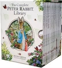 rabbit library the complete rabbit library by beatrix potter