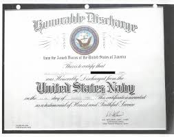 honorable discharge certificate e palmer service