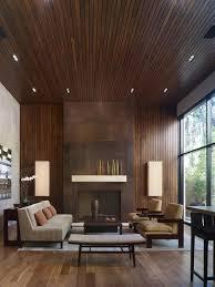 Gray Modern Living Room In Renovated Farmhouse How To Modernize - Modern interior design of living room