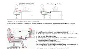 proper standing desk posture review the best sit stand workstations to meet your needs