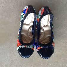 Dexflex Comfort Flats 76 Off Dexflex Comfort Shoes Floral Ballet Flat From Tiffany U0027s