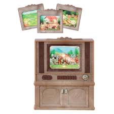 Sylvanian Families Kitchen And Living Room Collection Living - Sylvanian families living room set