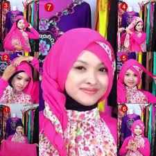 tutorial hijab pesta 2 kerudung tutorial hijab paris segi empat untuk pesta jinglepuff butik